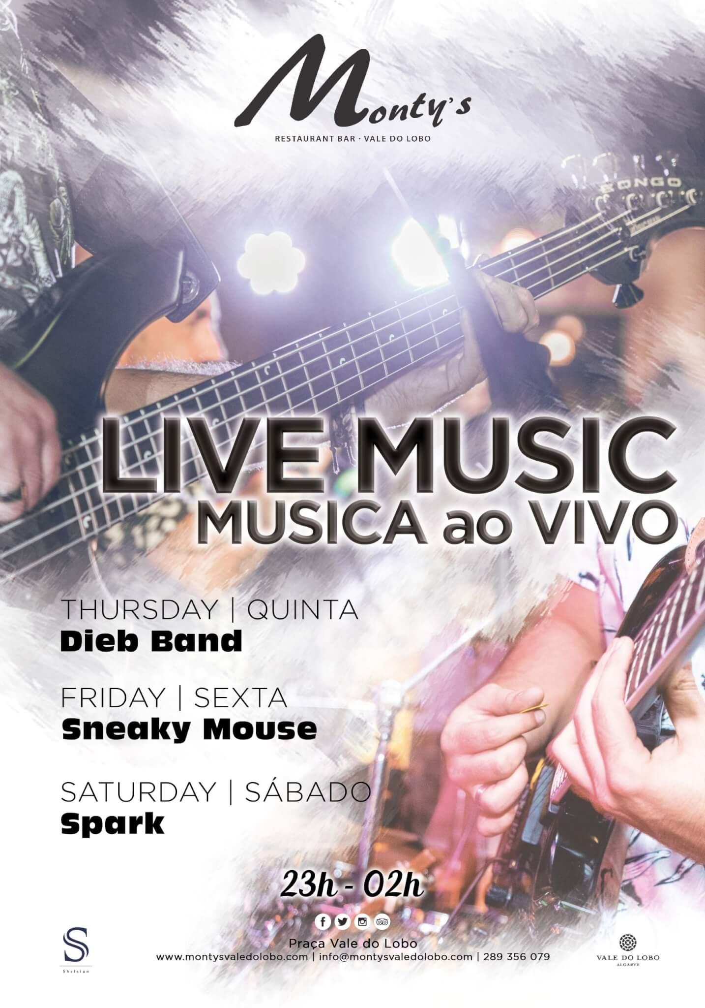 MUSICA AO VIVO - MONTYS